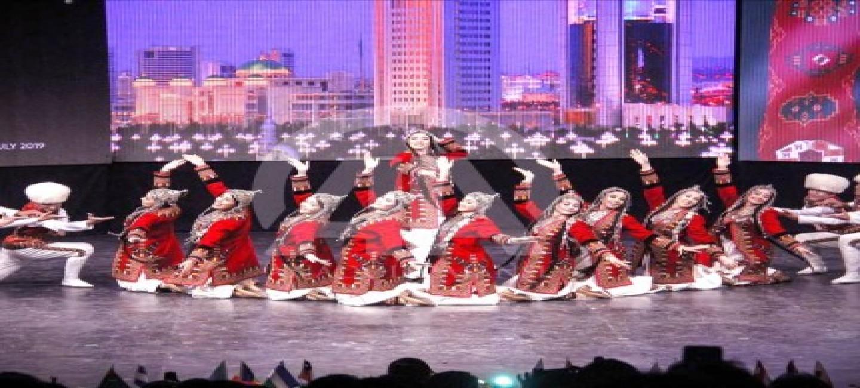 TURKMEN ARTISTS AMONG THE WINNERS OF THE INTERNATIONAL FOLK DANCE COMPETITION
