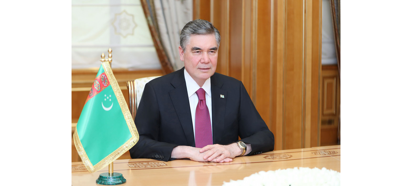 Turkmen leader and Sergey Lebedev discuss the agenda of the session of the CIS Economic Council