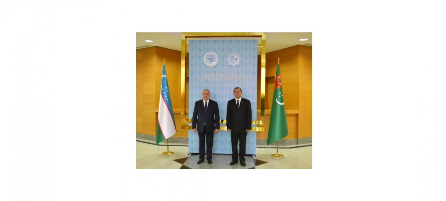THE MINISTER OF FOREIGN AFFAIRS OF THE REPUBLIC OF UZBEKISTAN ARRIVED TO ASHKHABAD ON A WORKING VISIT