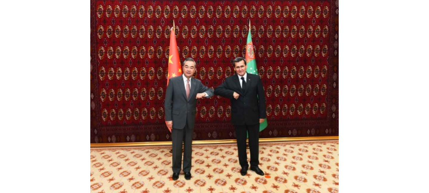 OFFICIAL VISIT OF THE HEAD OF THE EXTERNAL POLICY AGENCY OF CHINA TO ASHGABAT