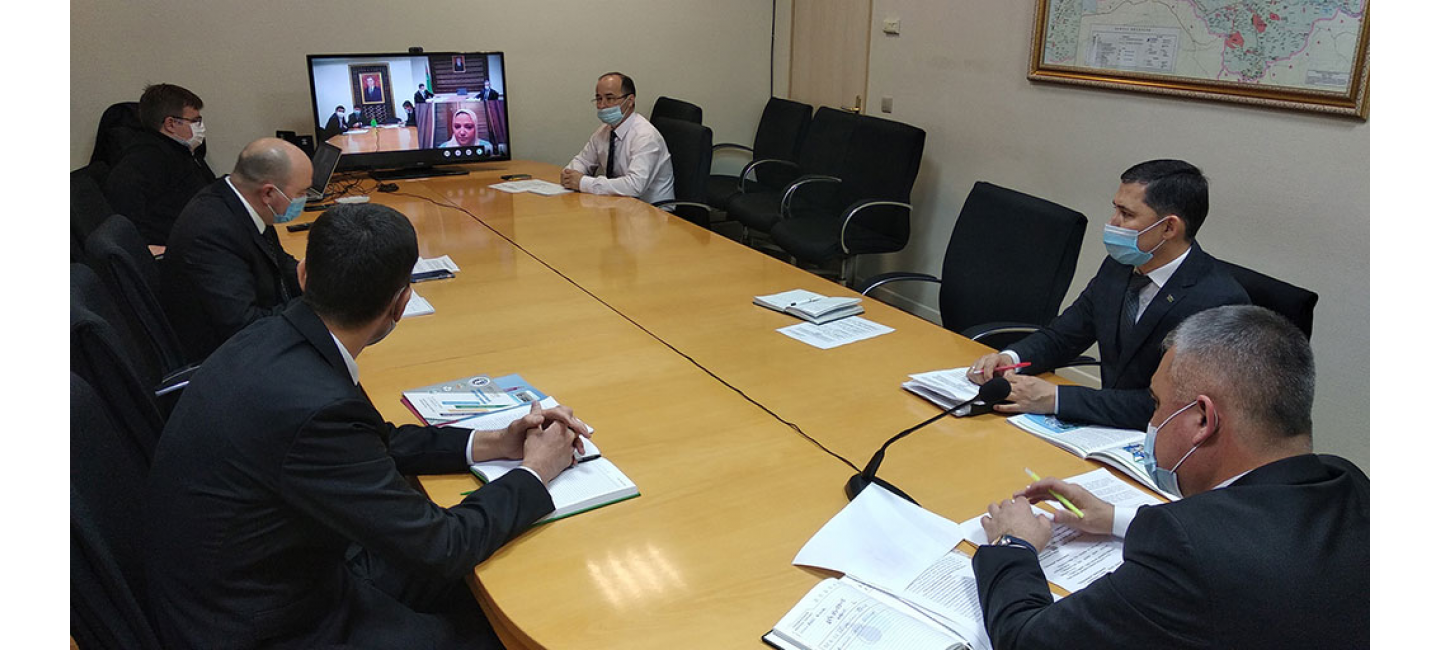 MEETING BETWEEN OIL AND GAS SECTOR REPRESENTATIVES OF TURKMENISTAN AND ARAB REPUBLIC OF EGYPT