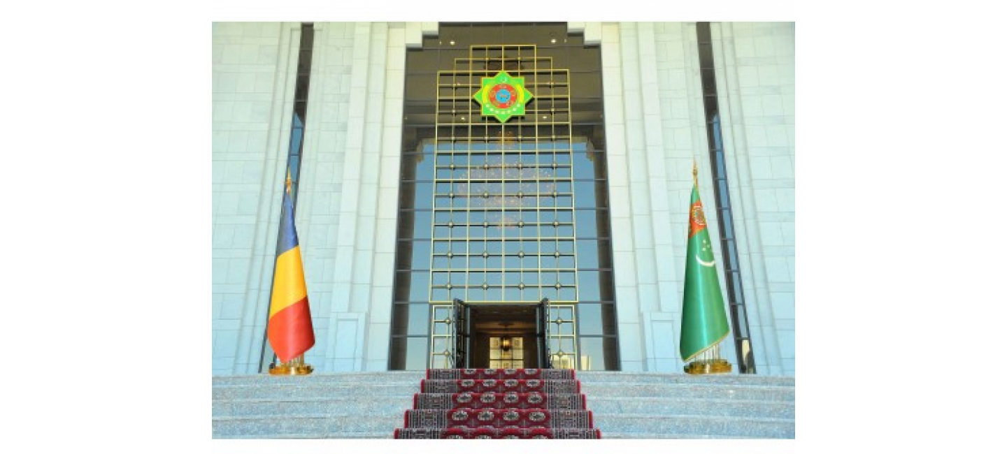 A MEETING OF PARLIAMENTARIANS OF TURKMENISTAN AND ROMANIA HAD BEEN HELD