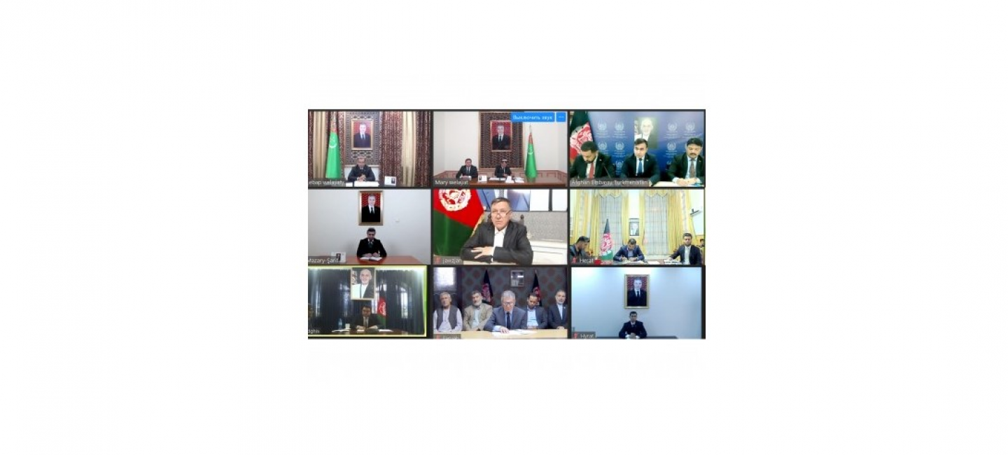 ONLINE MEETING OF THE GOVERNORS OF FRONTIER PROVINCES OF TURKMENISTAN AND AFGHANISTAN WAS HELD