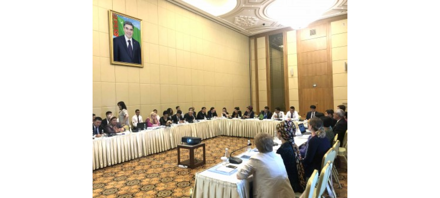 IOM SEMINAR IN THE AREA OF PREVENTING HUMAN TRAFFICKING IS BEING HELD IN ASHGABAT