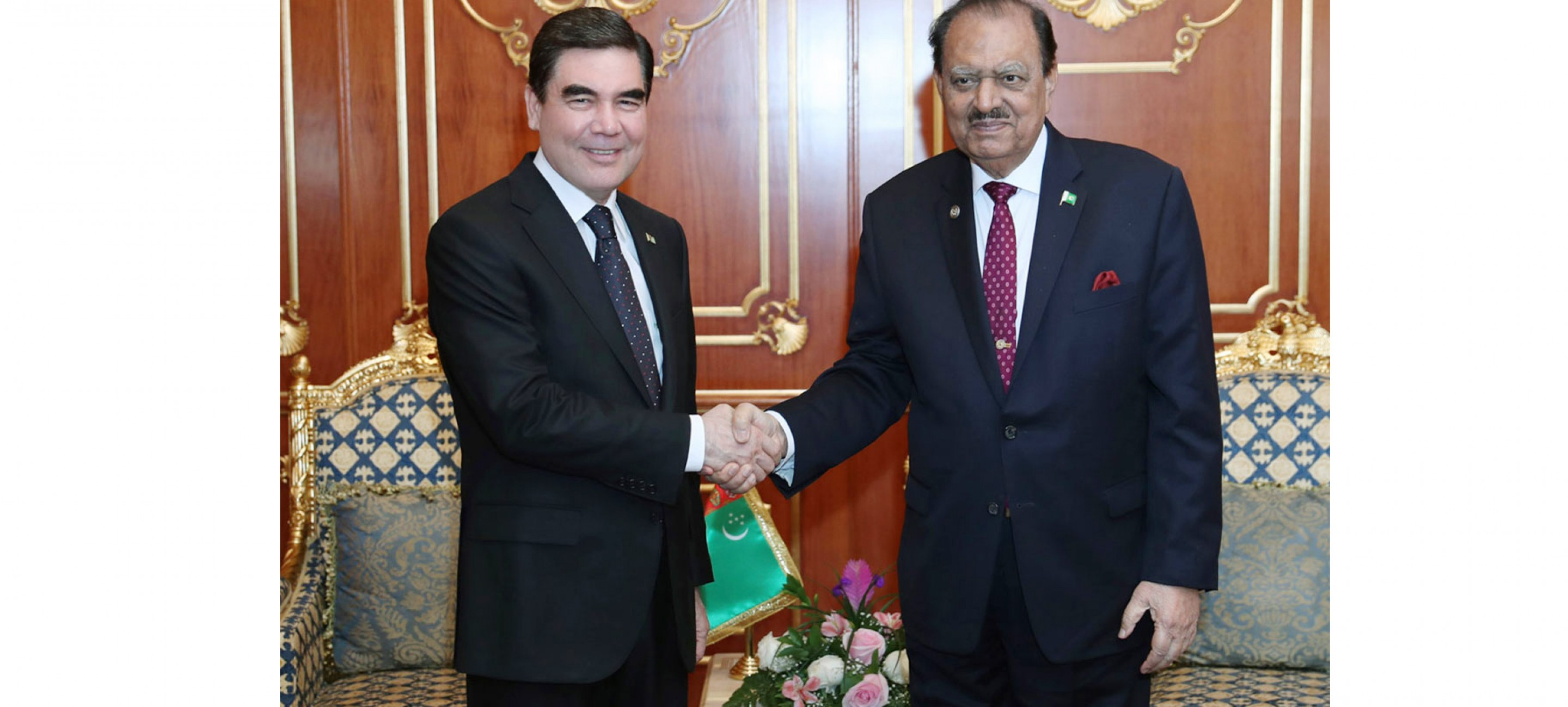 The Presidents of Turkmenistan and Pakistan benchmark current directions of cooperation